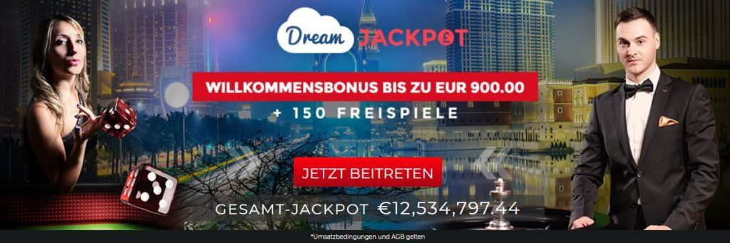 Dream Jackpot Software